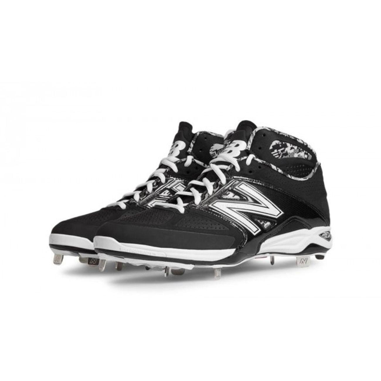New Mid De Balance Spikes Cut Crampons Baseball Metal q1aCq