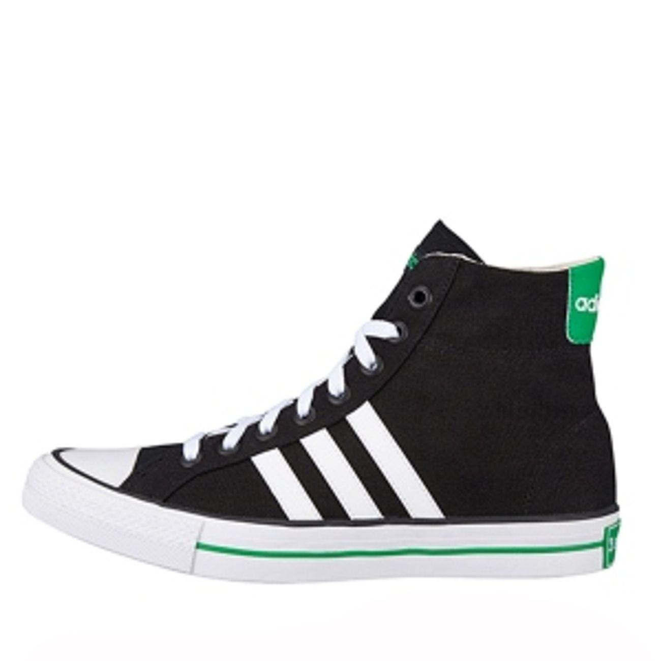 Adidas VLNEO 3 STRIPES MID Neo label Black white green
