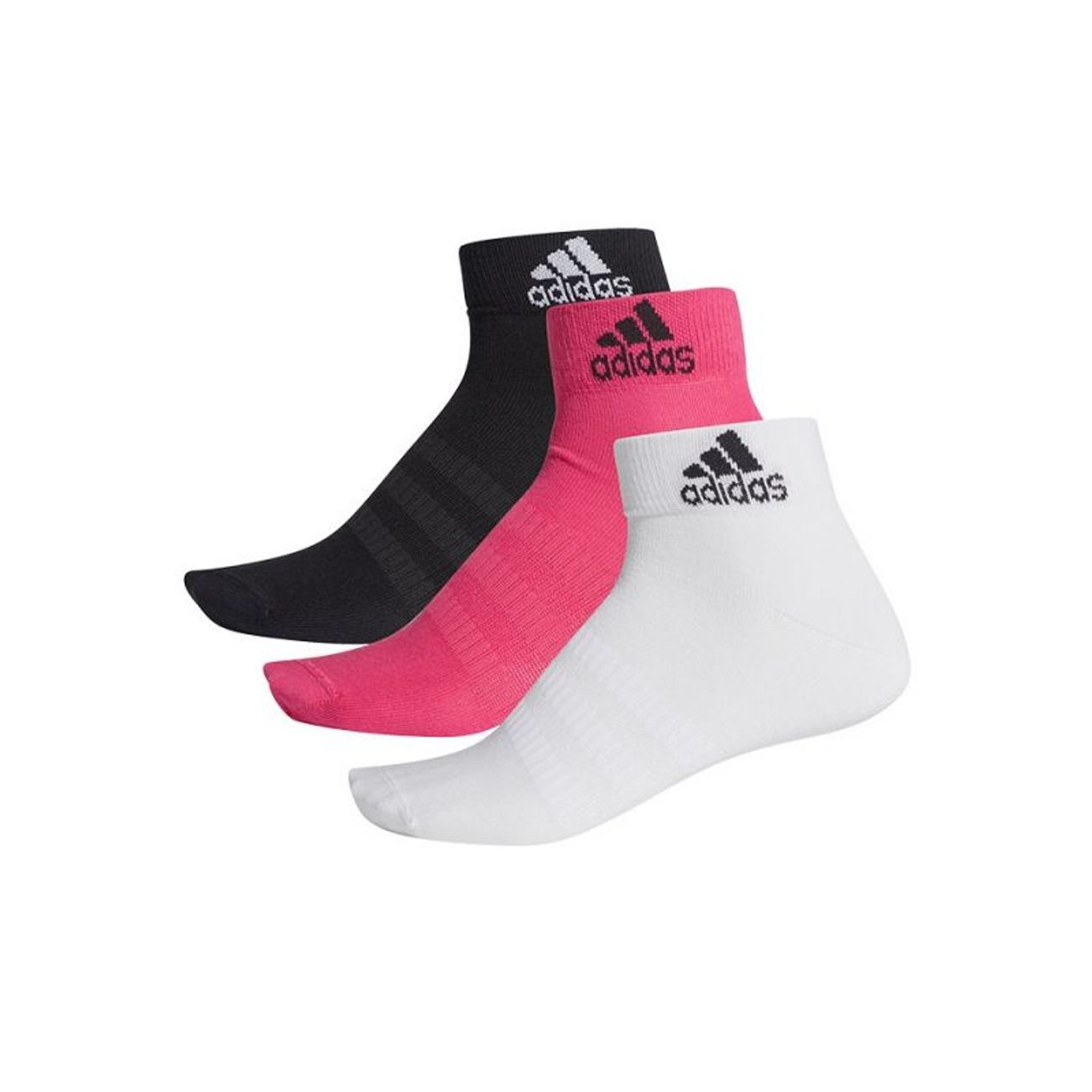 Fitness adulte ADIDAS Chaussettes adidas Ankle 3 Pairs