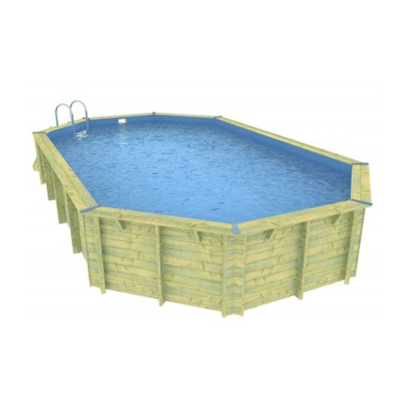b che bulles octogonale 470 x 860 cm achat et prix pas. Black Bedroom Furniture Sets. Home Design Ideas