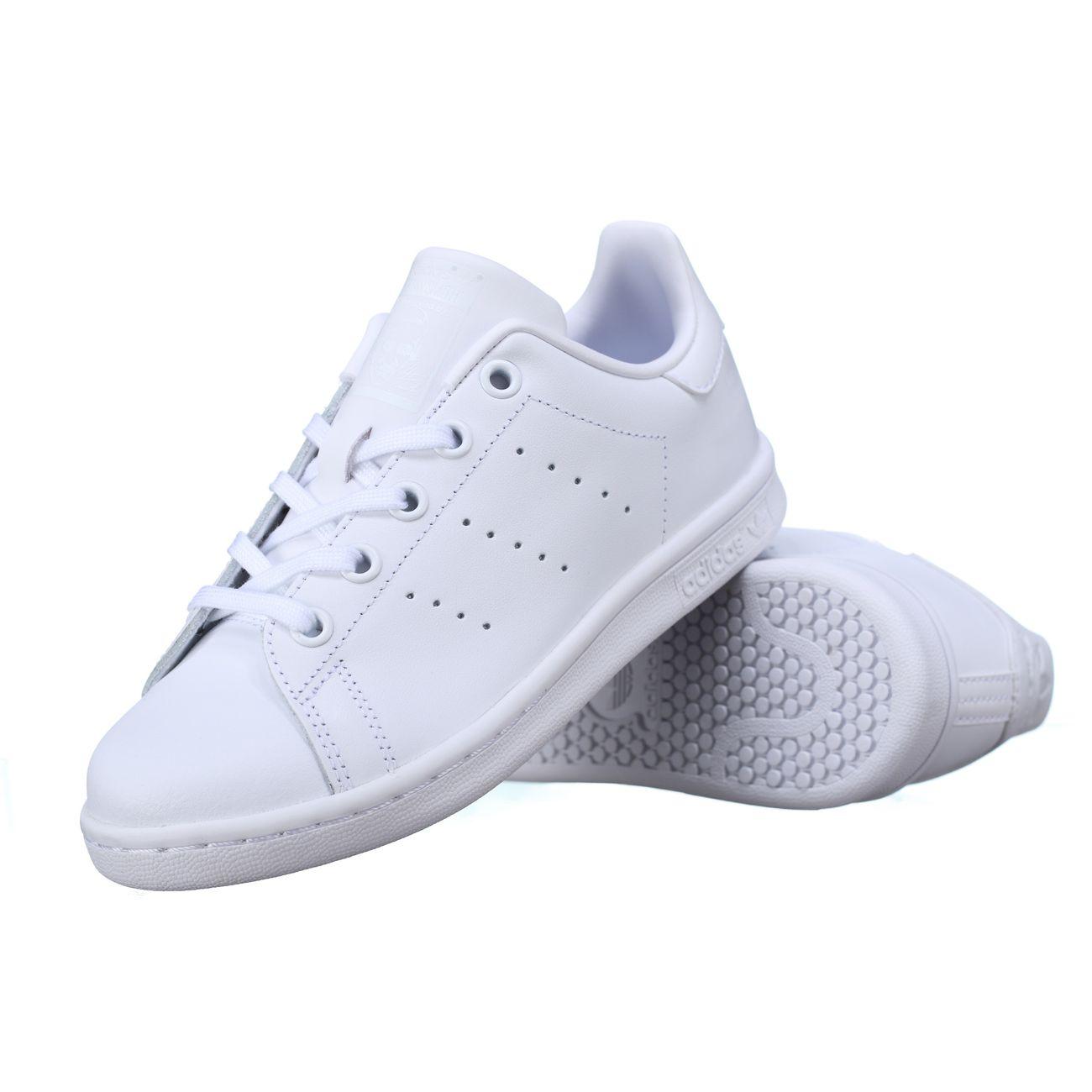 Mode- Lifestyle garçon ADIDAS Basket enfant Adidas Stan Smith C Bb8388 Full Blanc
