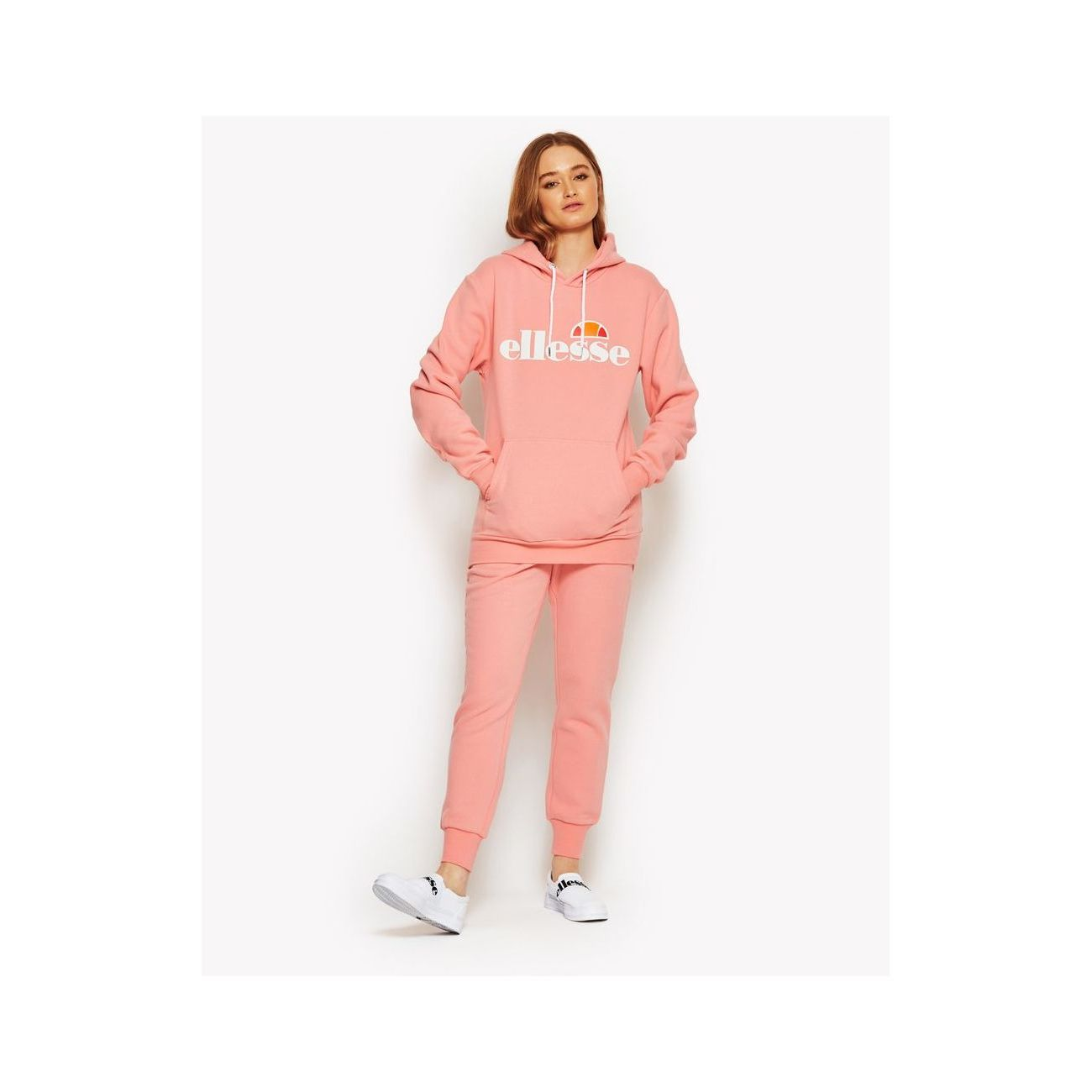 Mode Lifestyle femme ELLESSE Sweat capuche torices hoody collection heritage