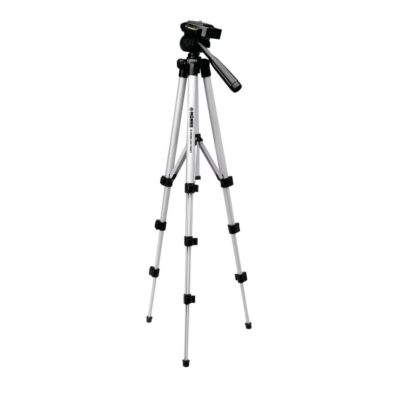 Chasse  KONUS Trépied aluminium 1060mm pour appareil photo , longue vue, jumelles