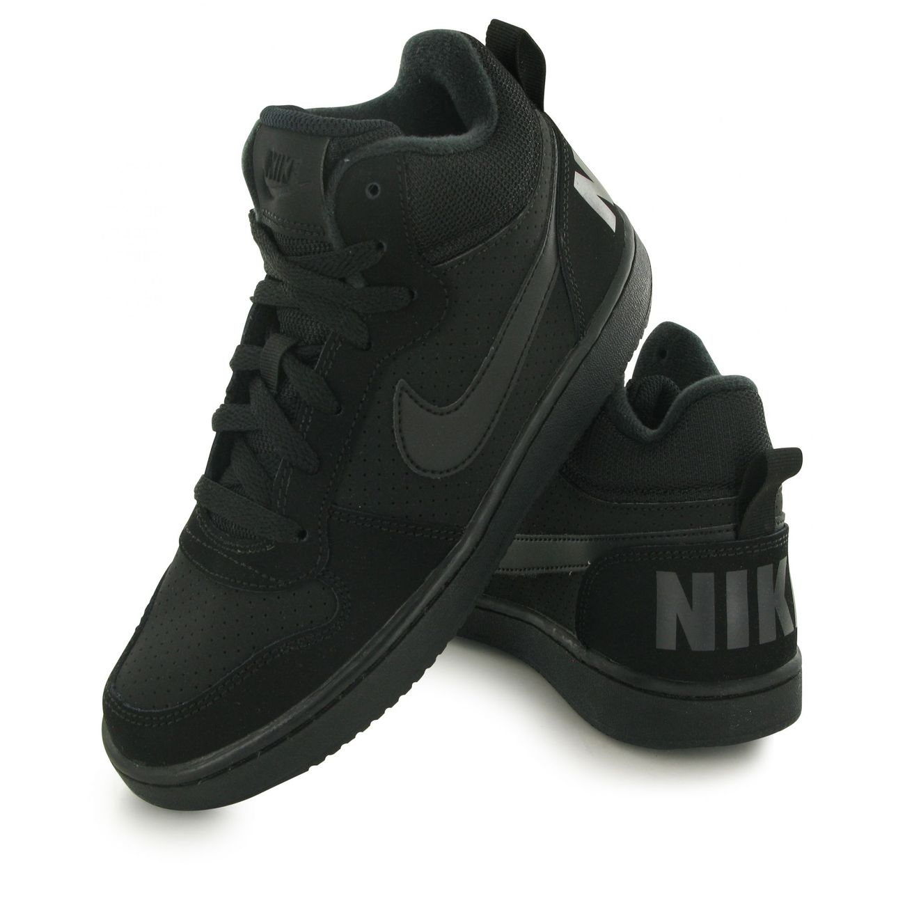 reputable site 9a5ac 276fc ... Mode- Lifestyle enfant NIKE Nike Court Borough Mid noir, baskets mode  enfant ...
