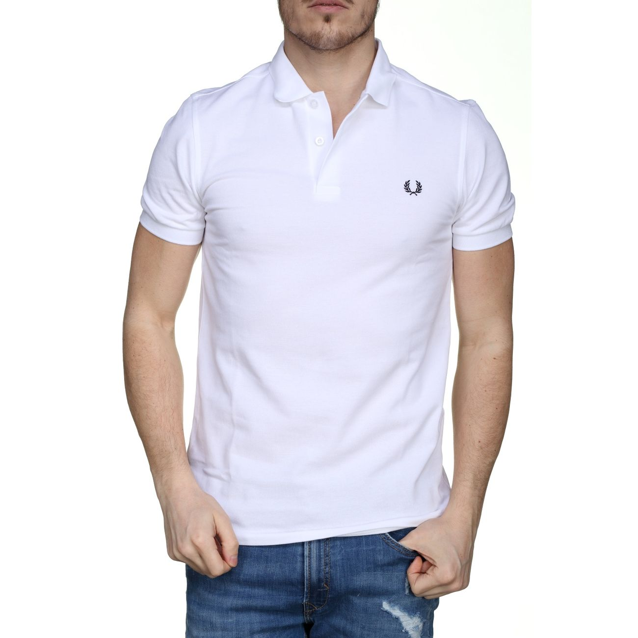 Polo Fred Perry Fpmm6000 100 Blanc – achat