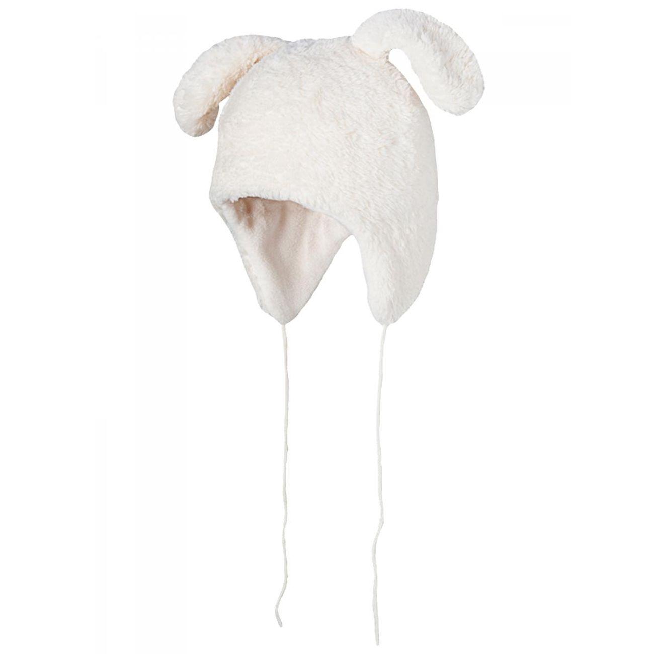 Ski Bébé BART'S BARTS-Chapka bunny fourrure polaire blanc ivoire bébé fille du 12 au 18 mois Barts
