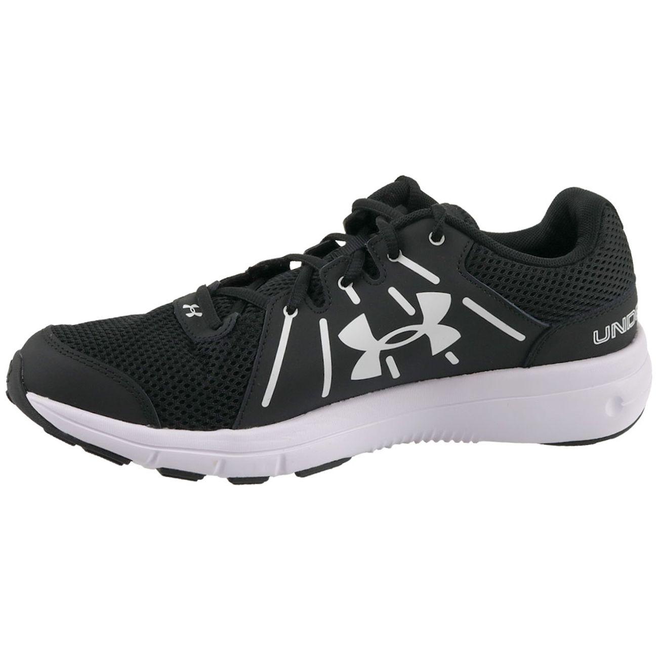 Chaussures De Running Noir Dash Rn 2 001 blanc Ua Homme Under Armour 1285671 L54AR3jq