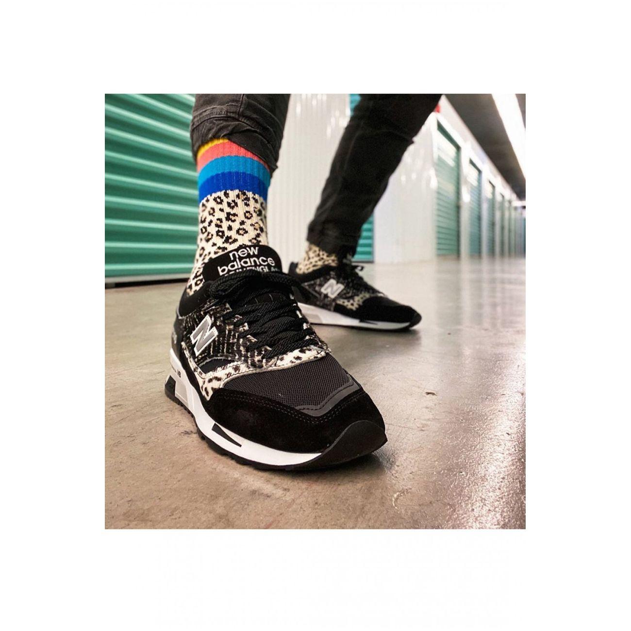 homme NEW BALANCE Sneakers en cuir et peau - New balance - Homme