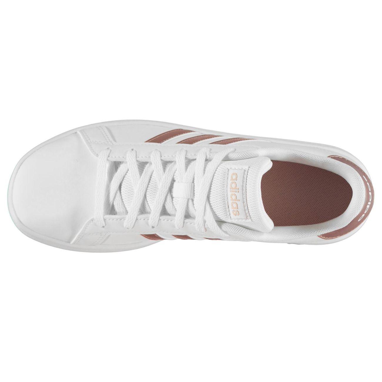 Multisport enfant ADIDAS Grand Court Baskets Basses Chaussures De Sport à Lacets