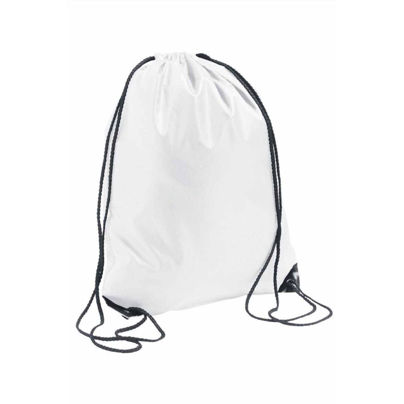 sac dos en toile bretelles 70600 blanc achat et. Black Bedroom Furniture Sets. Home Design Ideas