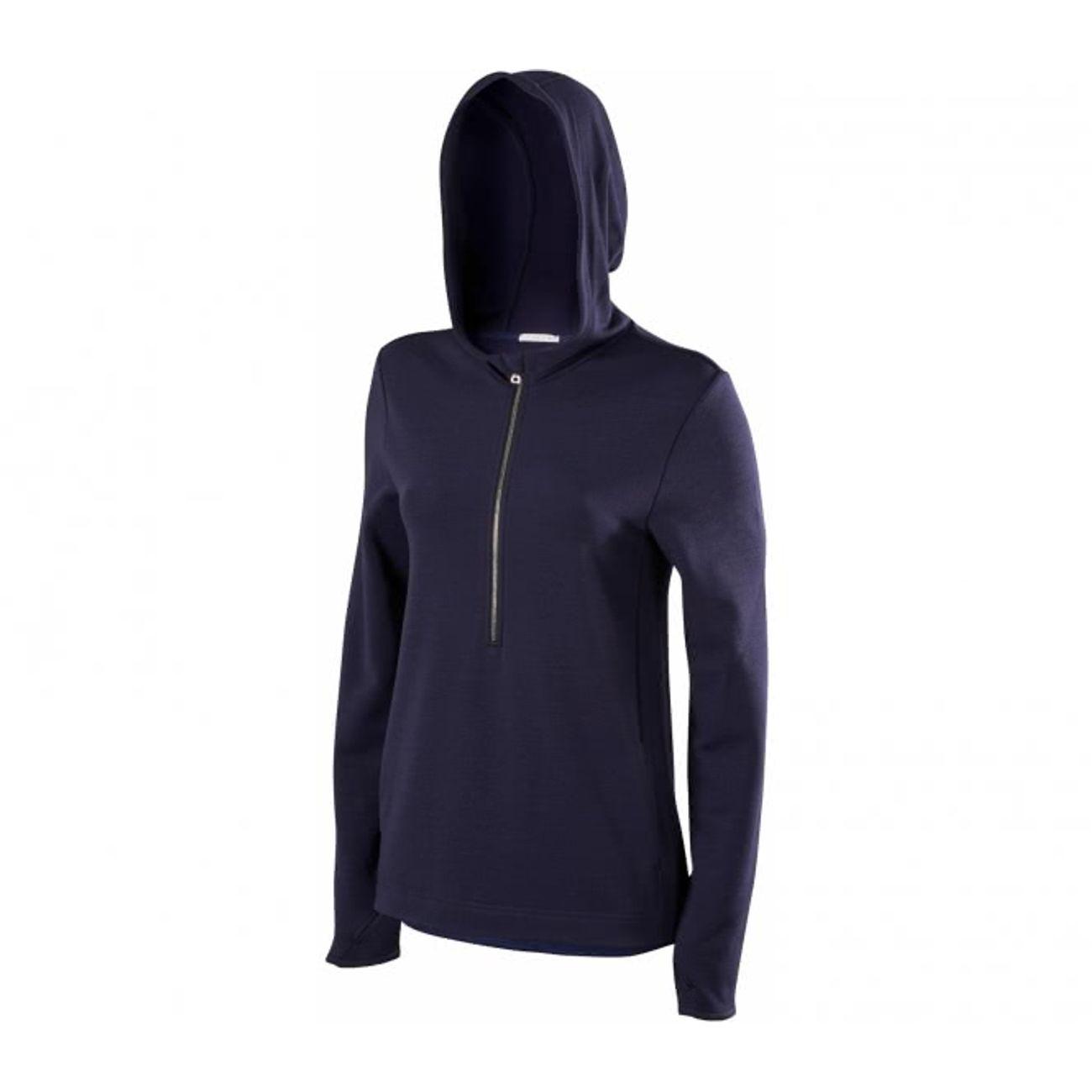 daa4a5f42aea1 running femme FALKE Falke - Fashion Manche longue Hooded Femmes sweat- chemise (bleu foncé