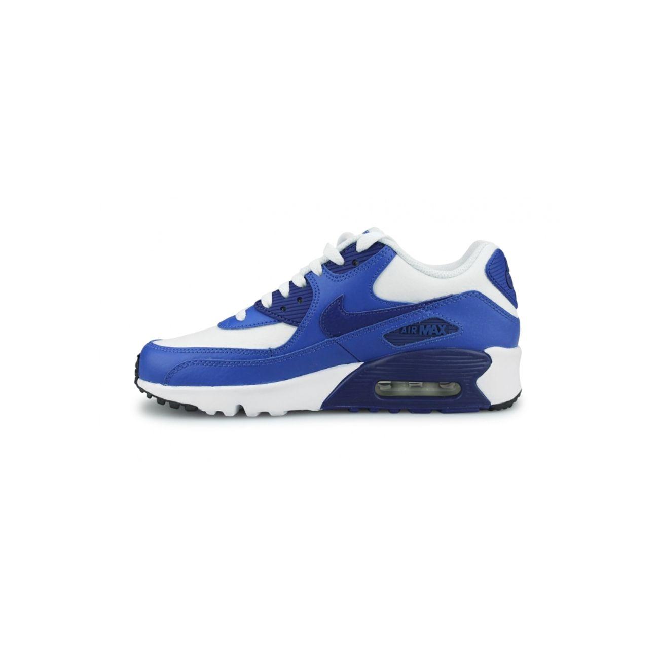 online store 59633 f9dcf ... Mode- Lifestyle garçon NIKE Basket Nike Air Max 90 Ltr Junior Blanc  833412-105 ...