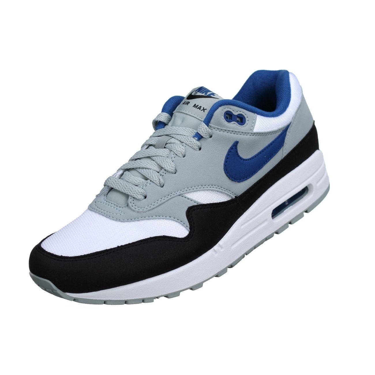 Mode- Lifestyle homme NIKE Basket Nike Air Max 1 Ah8145 - 102 Blanc / Bleu