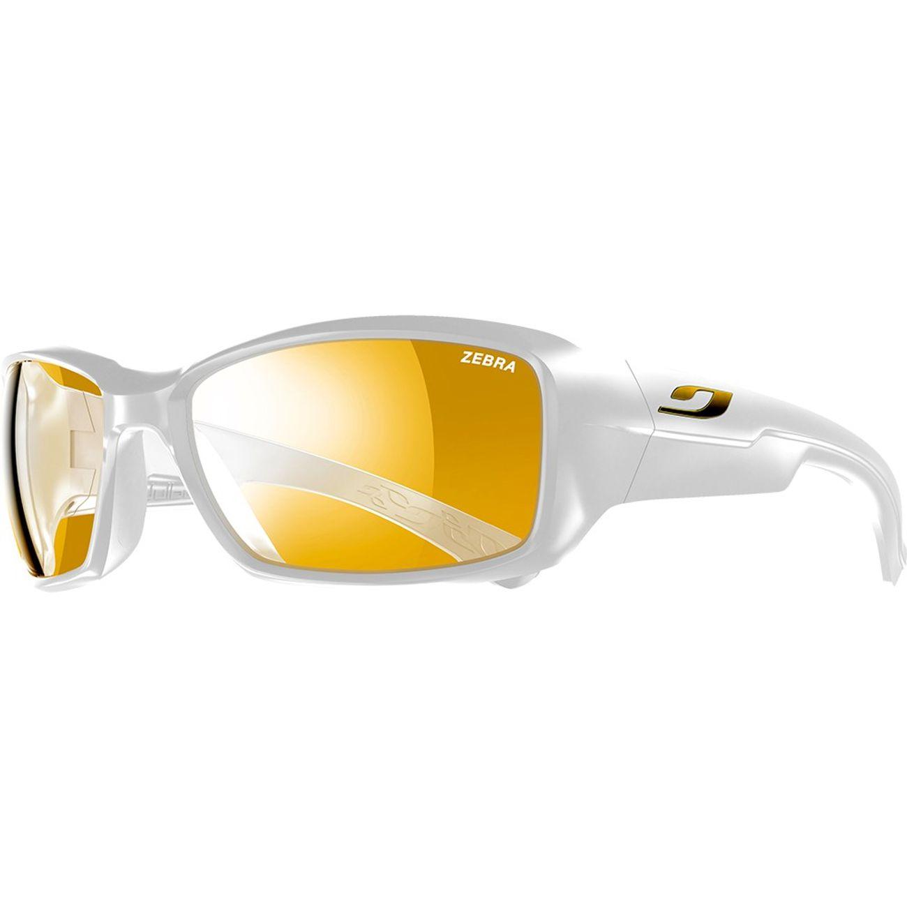 Mode- Lifestyle JULBO Lunettes de soleil Julbo Whoops, couleur   blanc  brillant, verre 7943d6b19c39