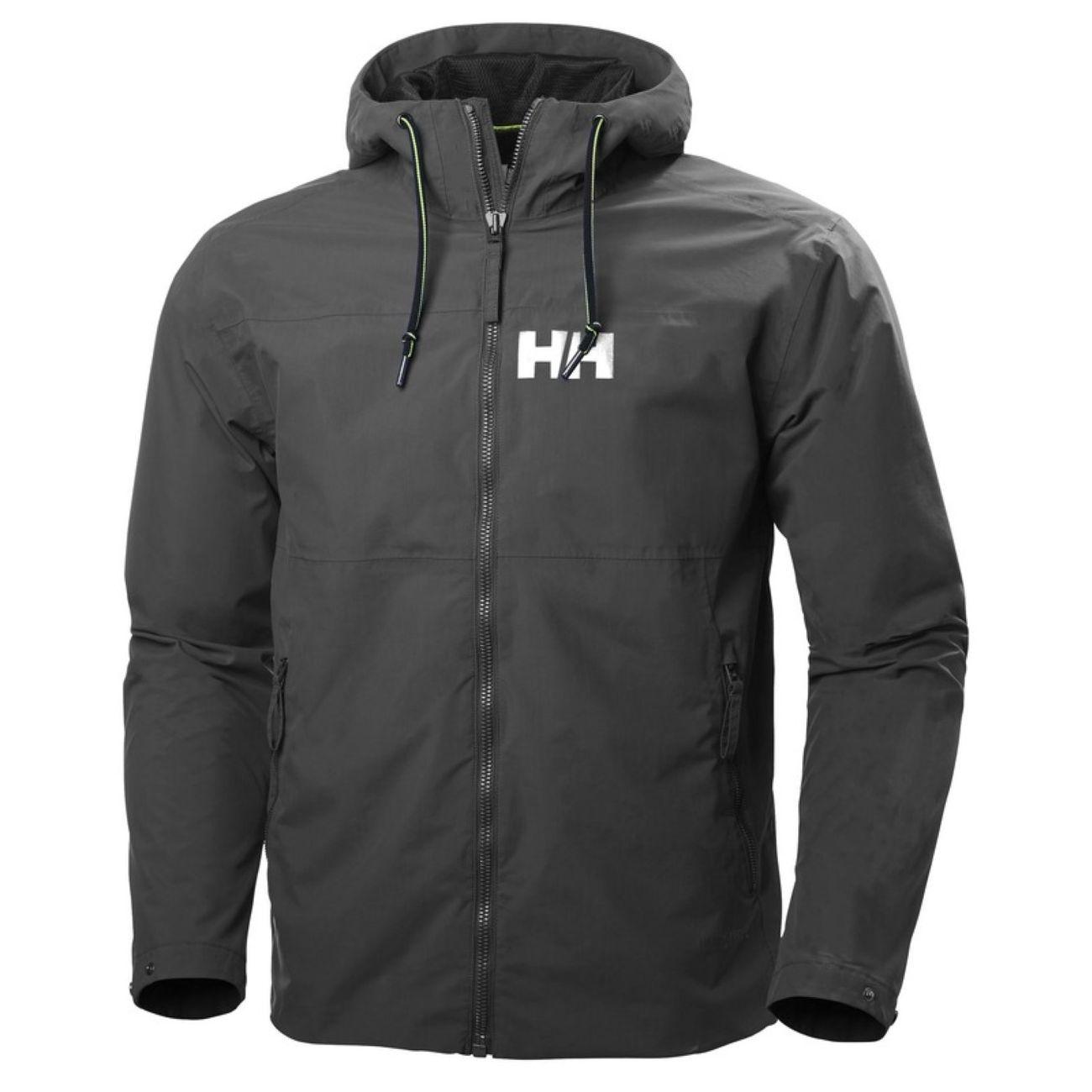 Hansen Jacket Multisport Rain L Homme Helly Ebony Rigging 3LA5RjS4qc