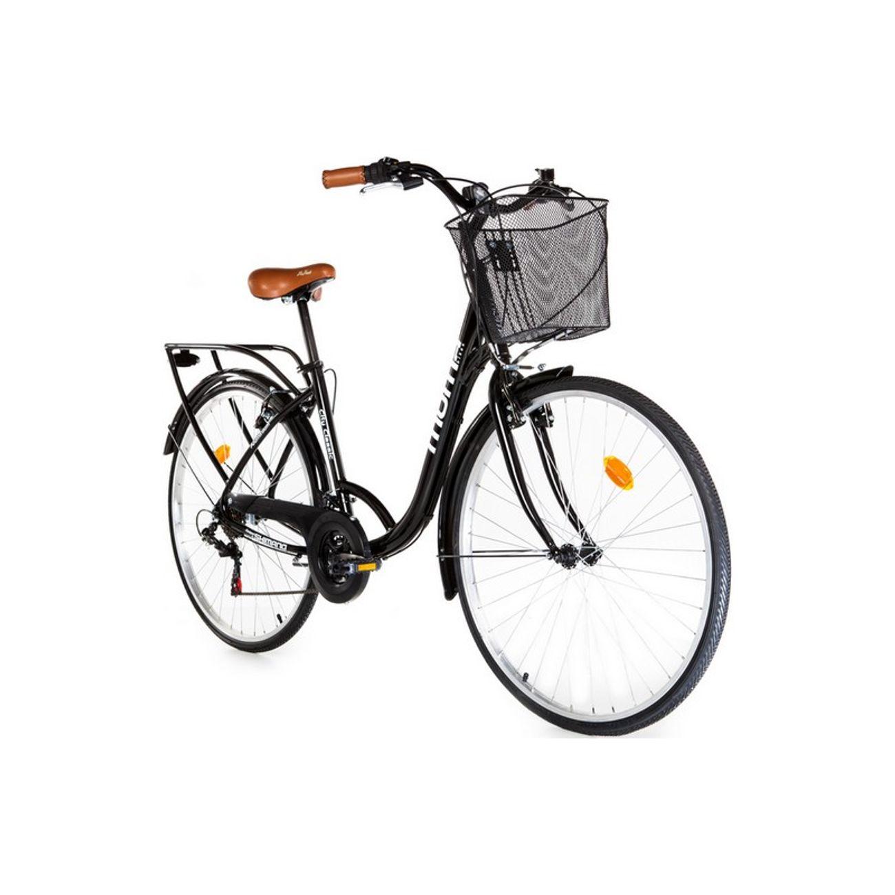 Cycle  MOMABIKES Moma Bikes, Vélo de Ville City Classic 28