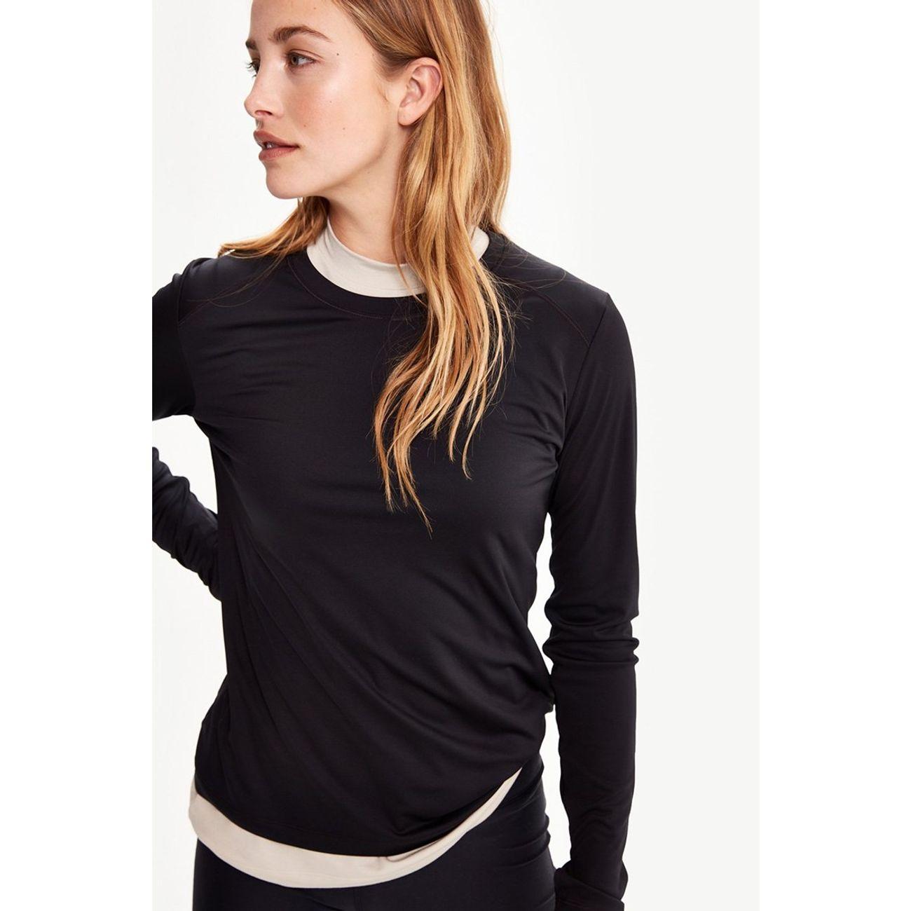 T Yoga shirt Anti Cardio Lole Manches Femme humidité Longues OZuXkiTP