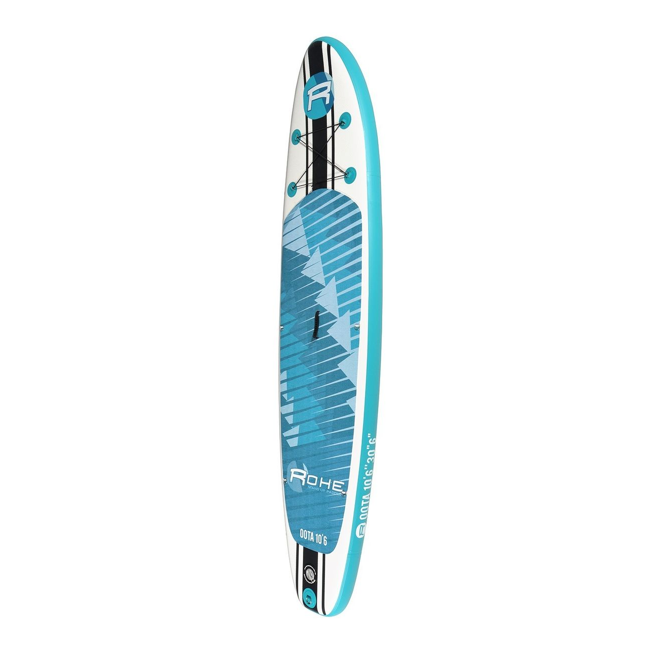 Stand up paddle  ROHE Stand Up Paddle Gonflable OOTA ROHE - 10'6'' (320cm) 30'' (76cm) 6'' (15cm) avec Pompe, Pagaie, Leash et Sac de transport