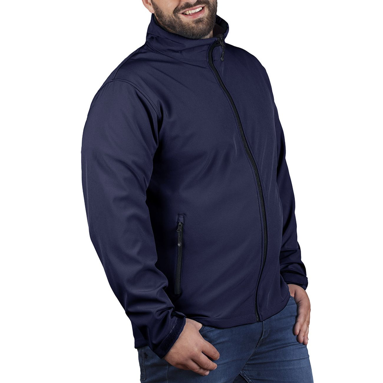 Veste polaire grande taille pour homme