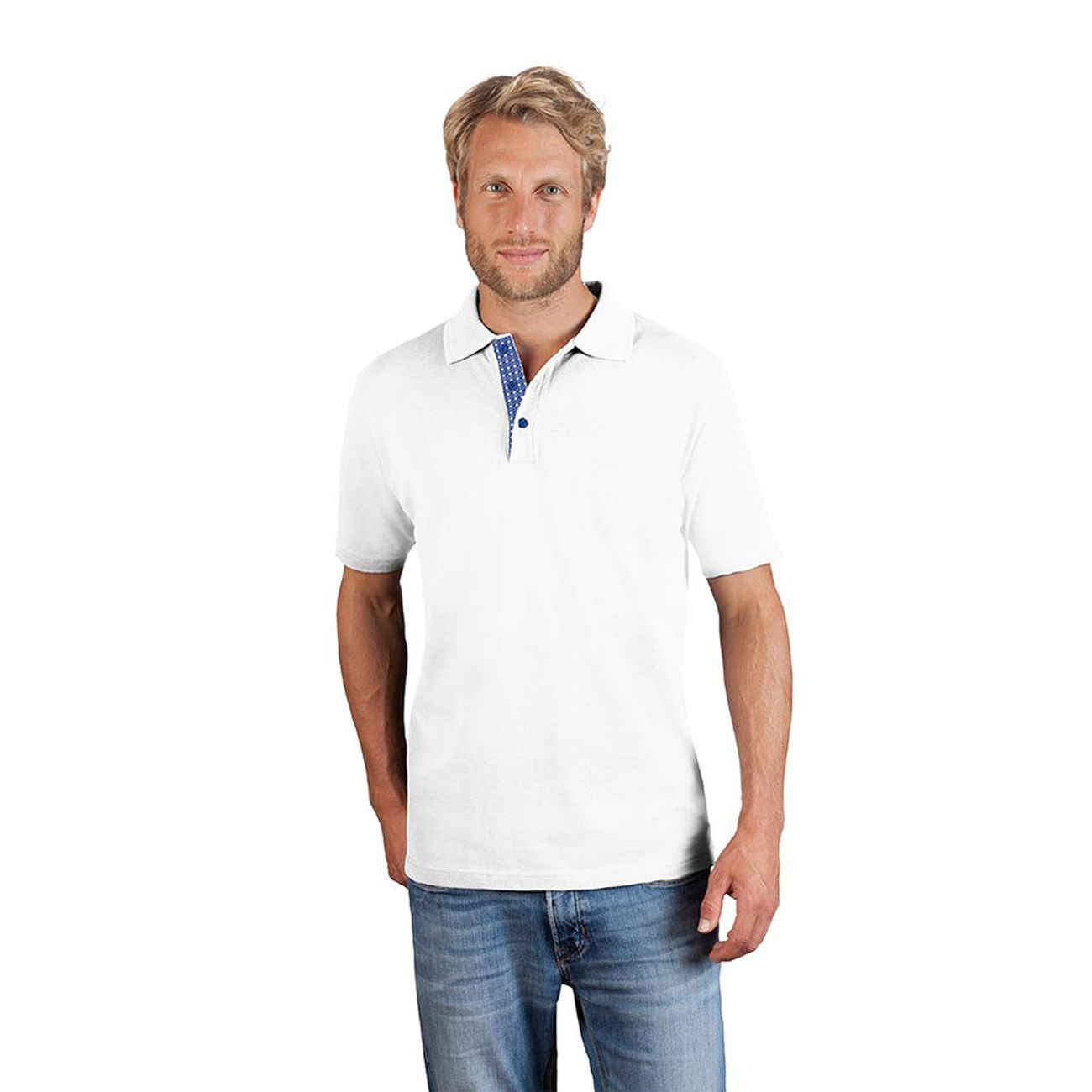 ModeLifestyle Promodoro Polo Graphic 505ab Homme Lq4j3AR5