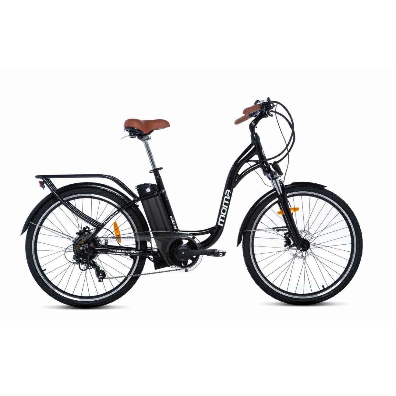 MOMABIKES Vélo Electrique VAE De ville, E-28.2