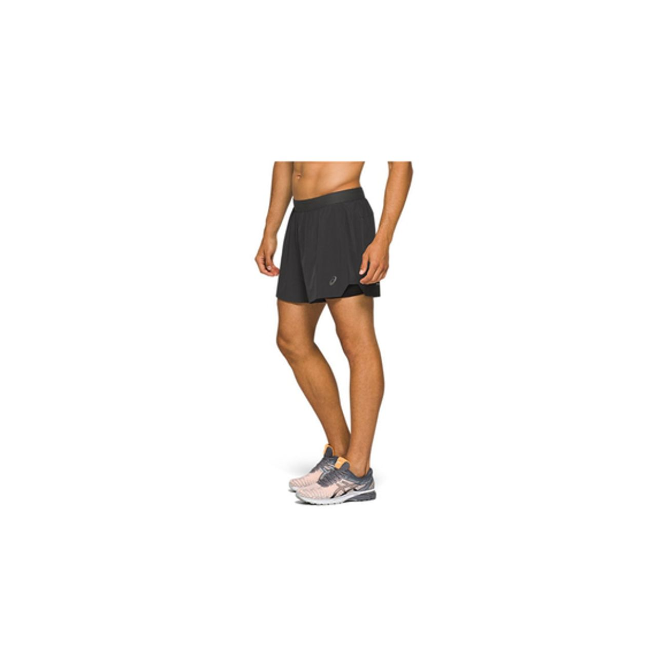 Course à pied homme ASICS Short Asics Road 2-n-1 5in