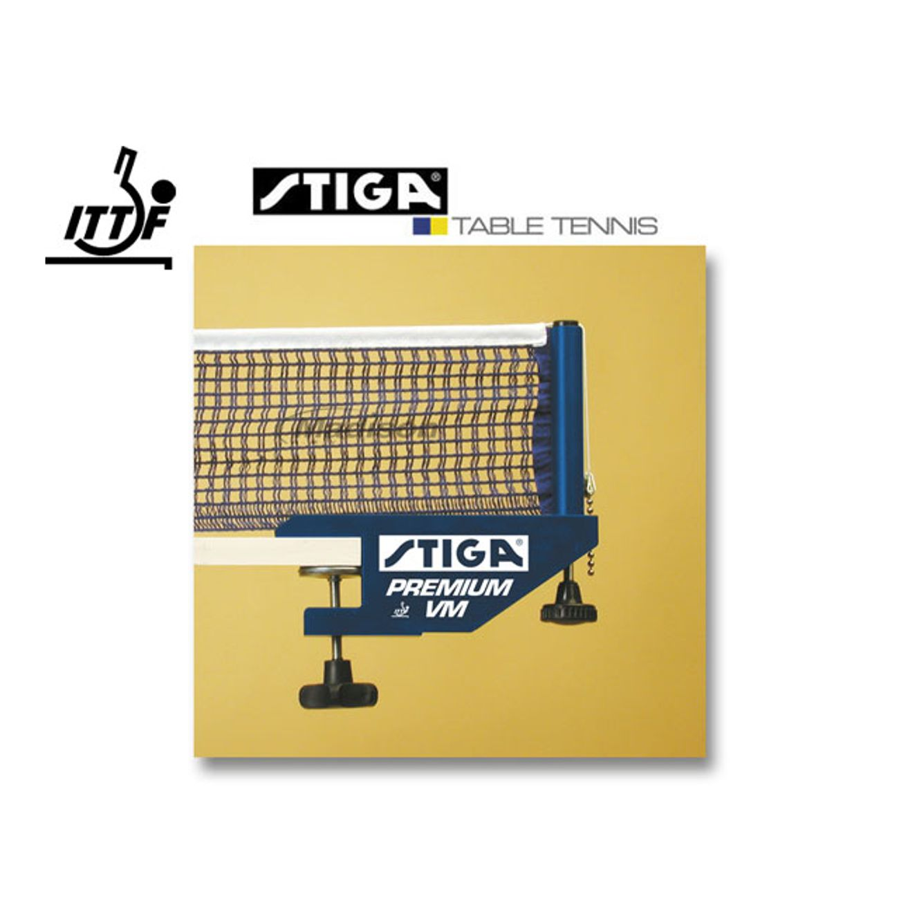 Stiga filet premium vm ittf achat et prix pas cher go sport - Hauteur filet tennis de table ...