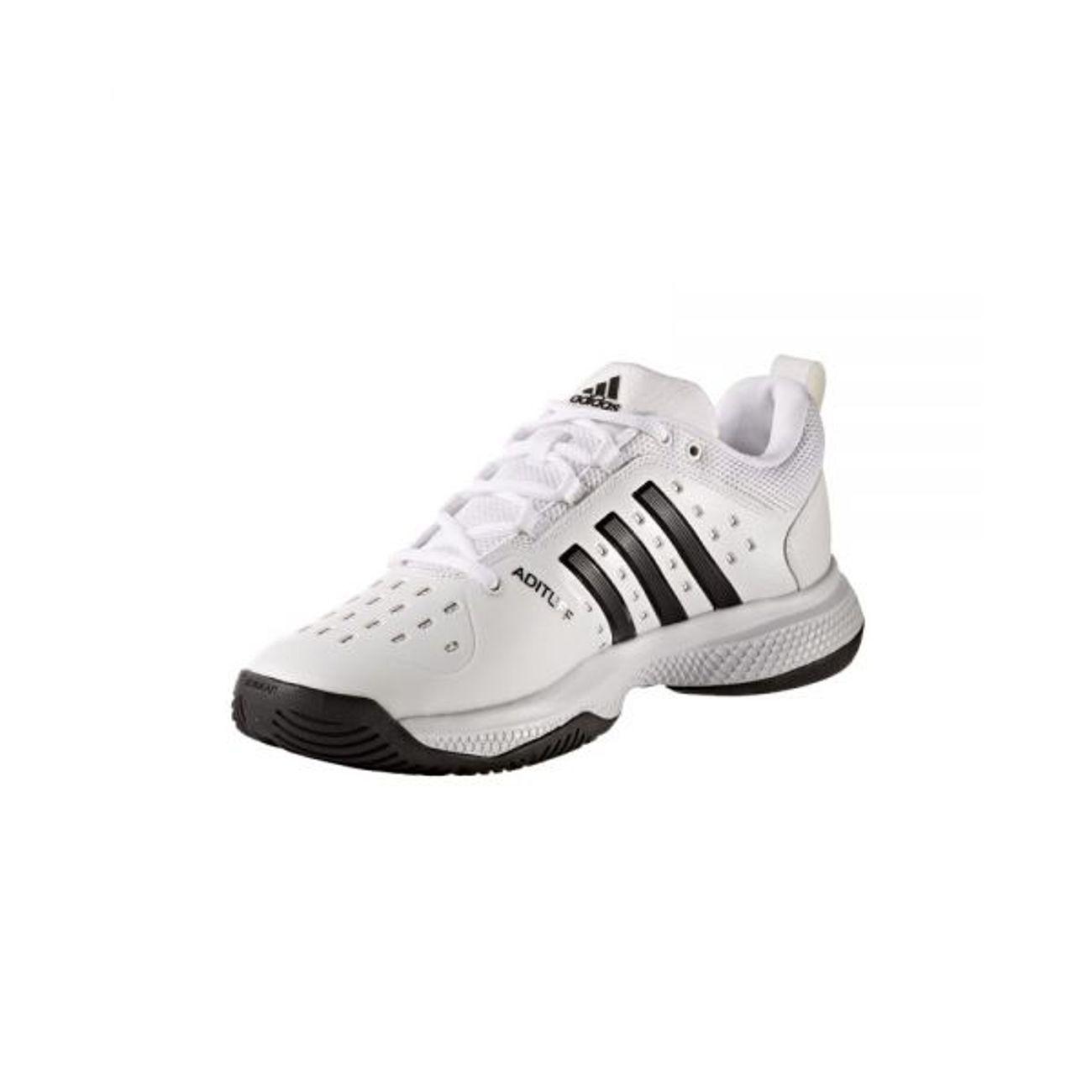 best website e937e 7e6af ... Tennis homme ADIDAS Adidas - Barricade Classic Bounce Synthetic  chaussures de tennis pour hommes (blanc ...