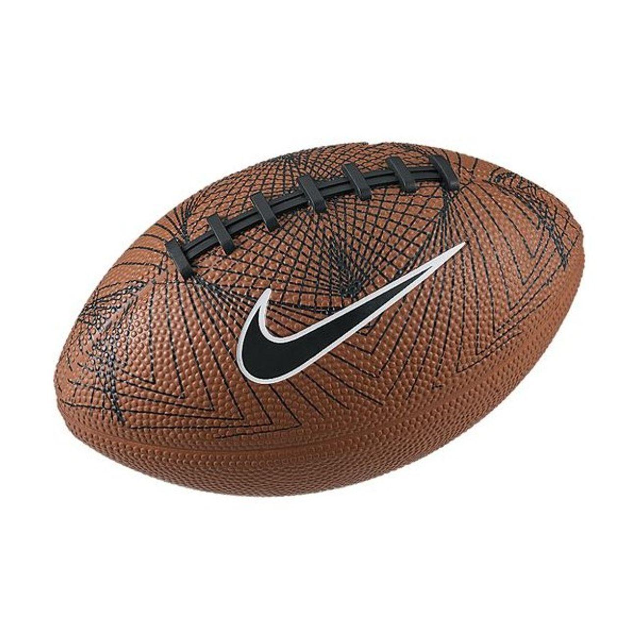 Mini ballon de Football Américain Nike 500 marron – achat et prix ... 70c188aa017