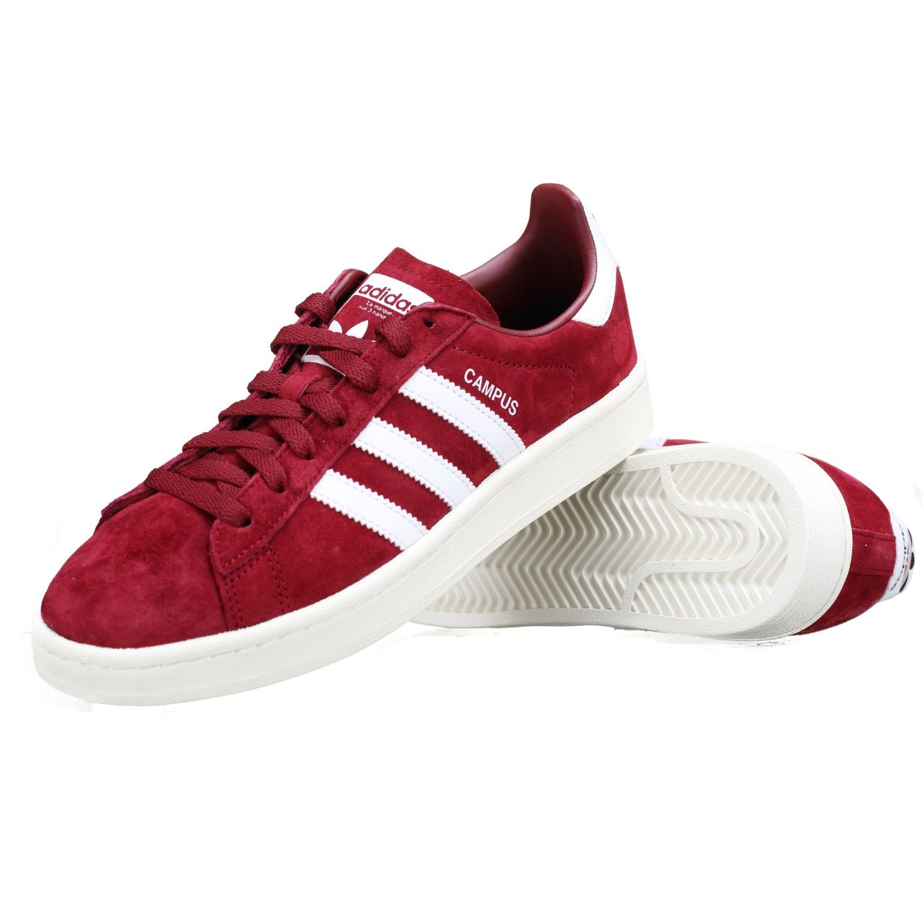 photos officielles 224a0 24926 Mode- Lifestyle homme ADIDAS Basket Adidas Campus Bz0087 Rouge