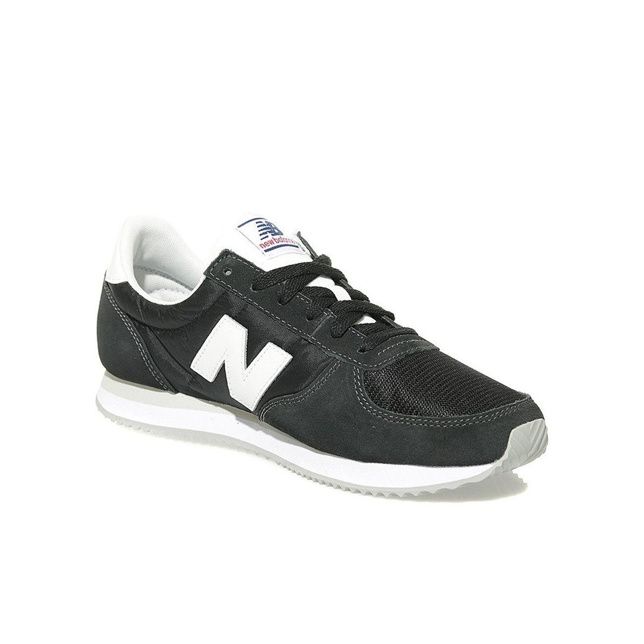 Chaussures New Balance U 220 Vintage noir blanc – achat et