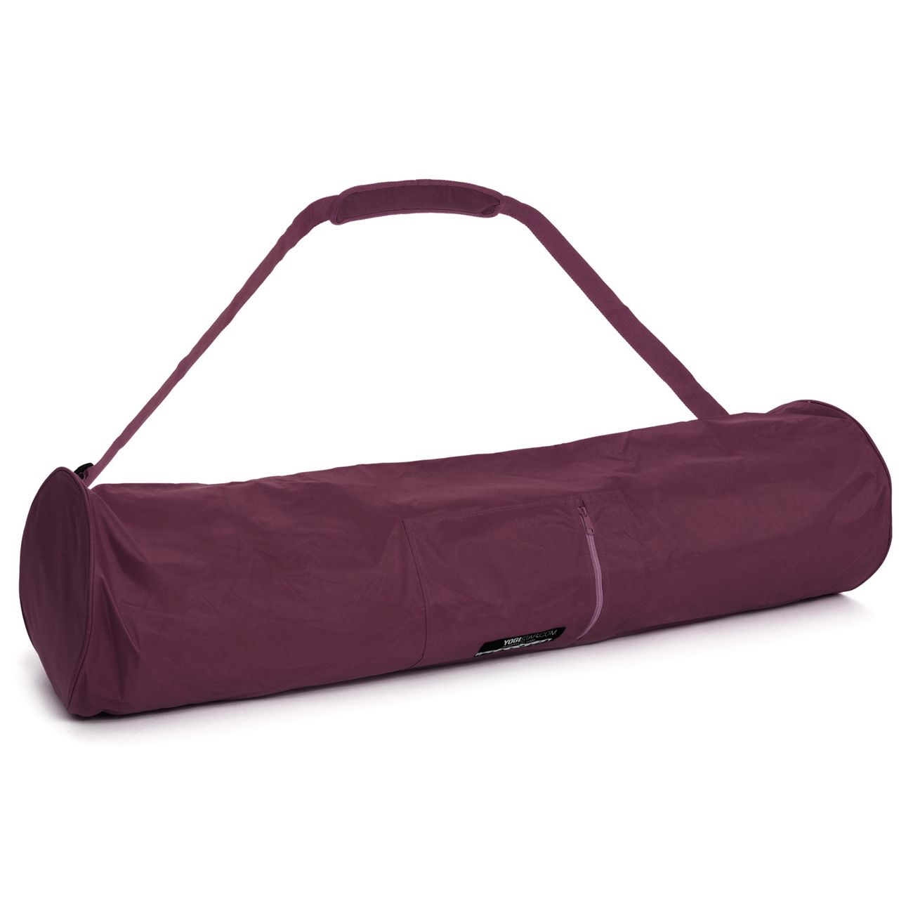 Yoga  YOGISTAR Sac de yoga basic - zip - extra big - nylon - 109 cm bordeaux