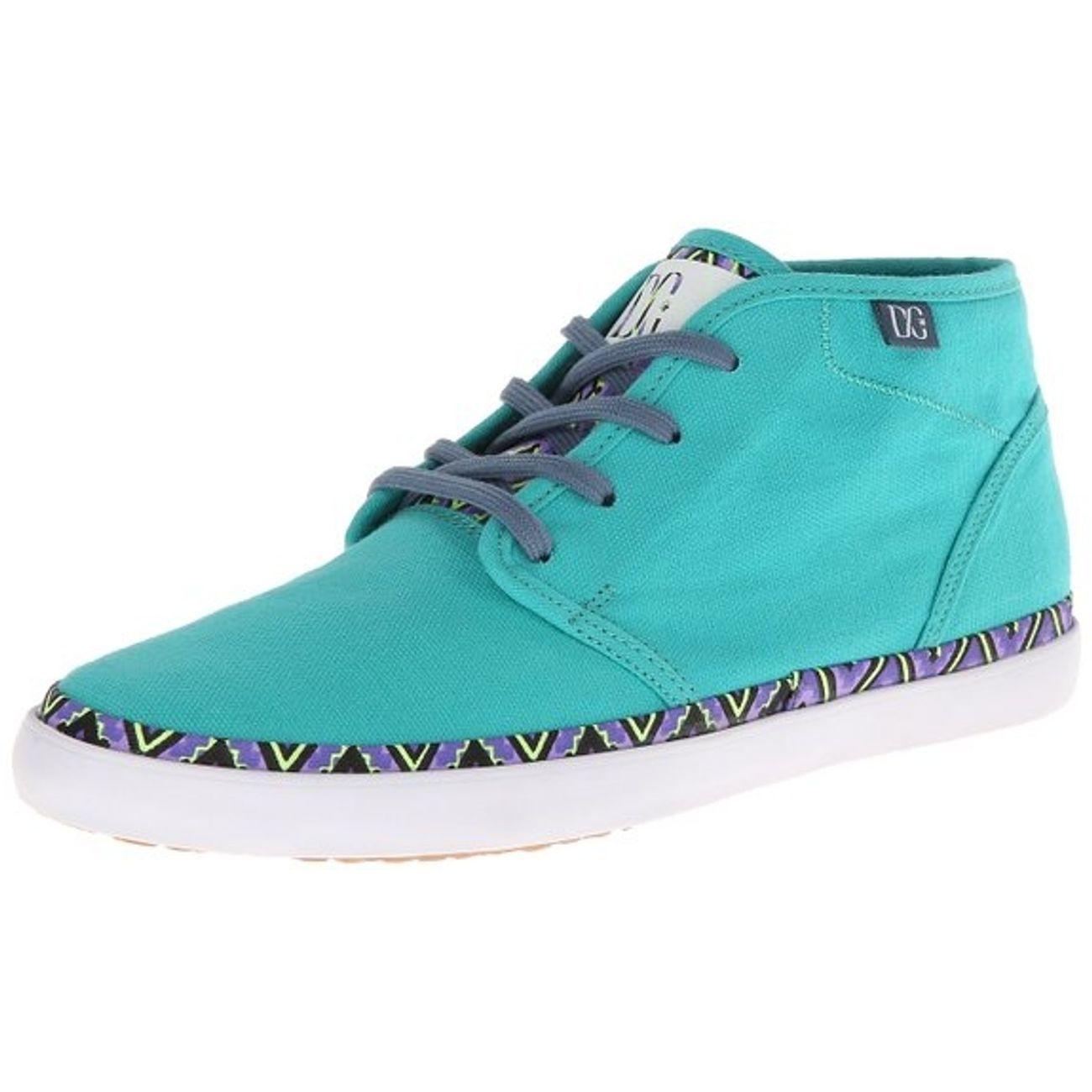Dc Studio Yellow ModeLifestyle Shoes Mid Green Ltz Femme 8N0mnw