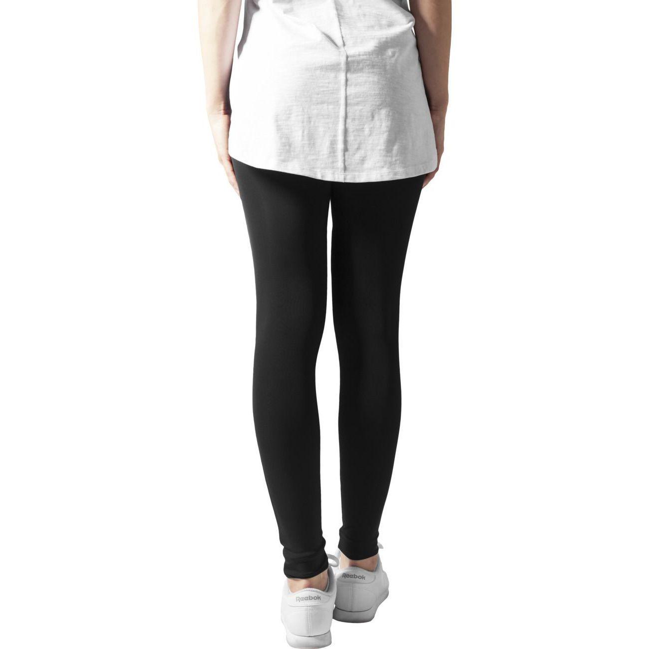 Mode- Lifestyle femme URBAN CLASSICS Legging Tech Mesh Urban Classics Noir