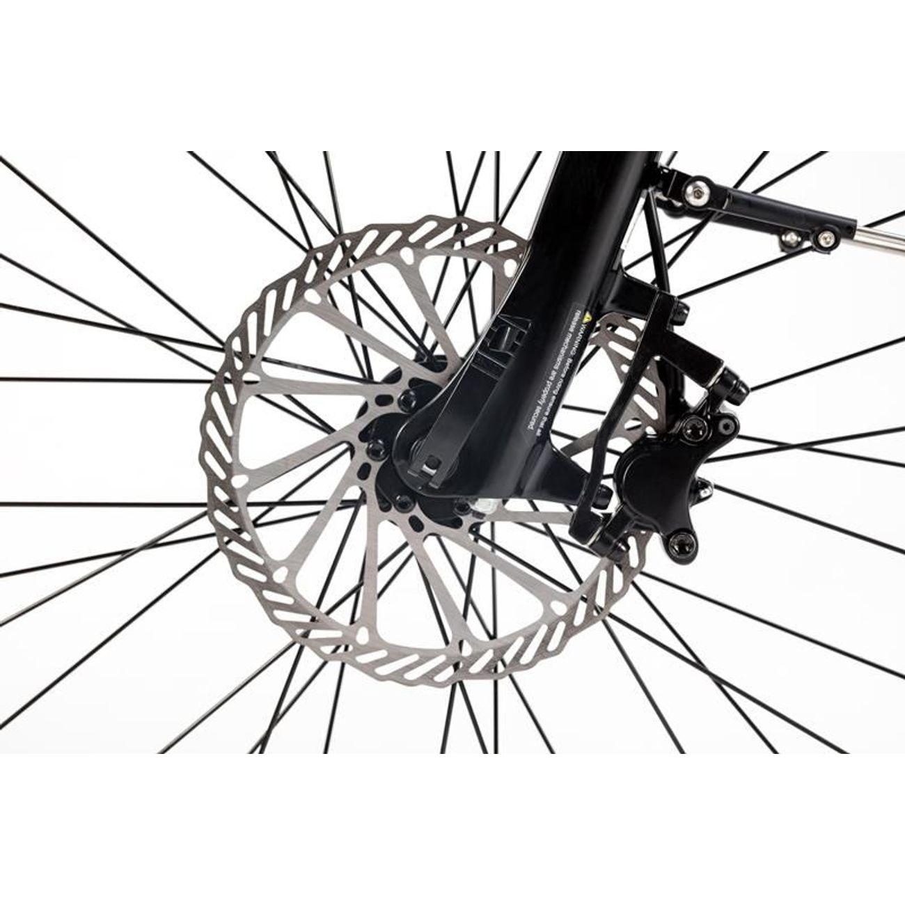 MOMABIKES Vélo de Ville Electrique VAE Ebike PRO Hydraulique Batterie intégrée, Adulte Unisexe, Gris, Unic Size