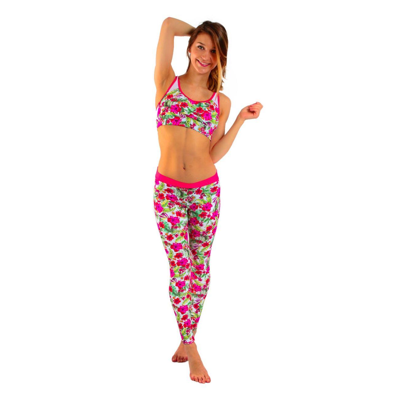 Step Banana Flamme Sunrun Legging Multicolore Moon Sport tFq8w8S