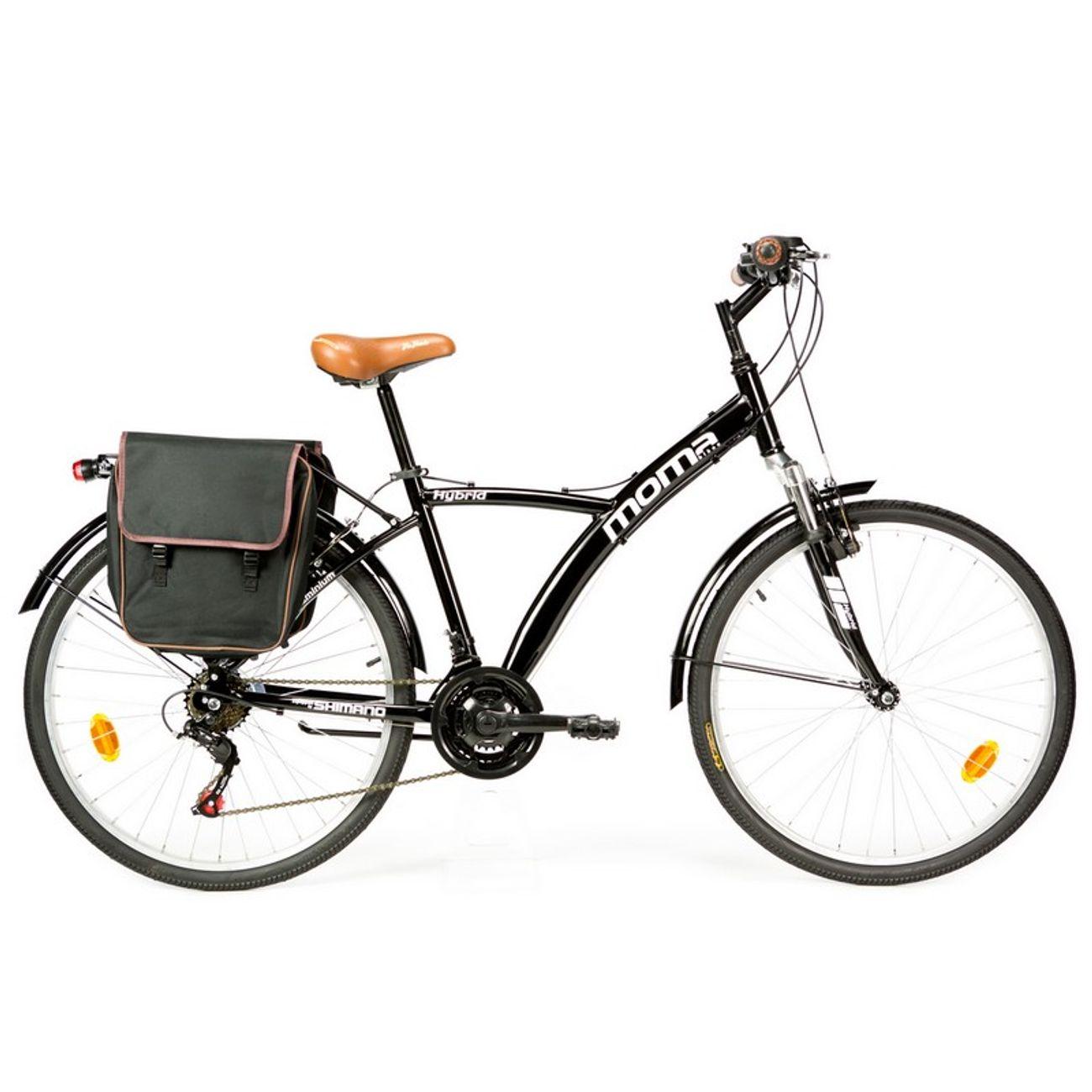Cycle  MOMABIKES Moma Bikes Vélo Trekking, HYBRID 26
