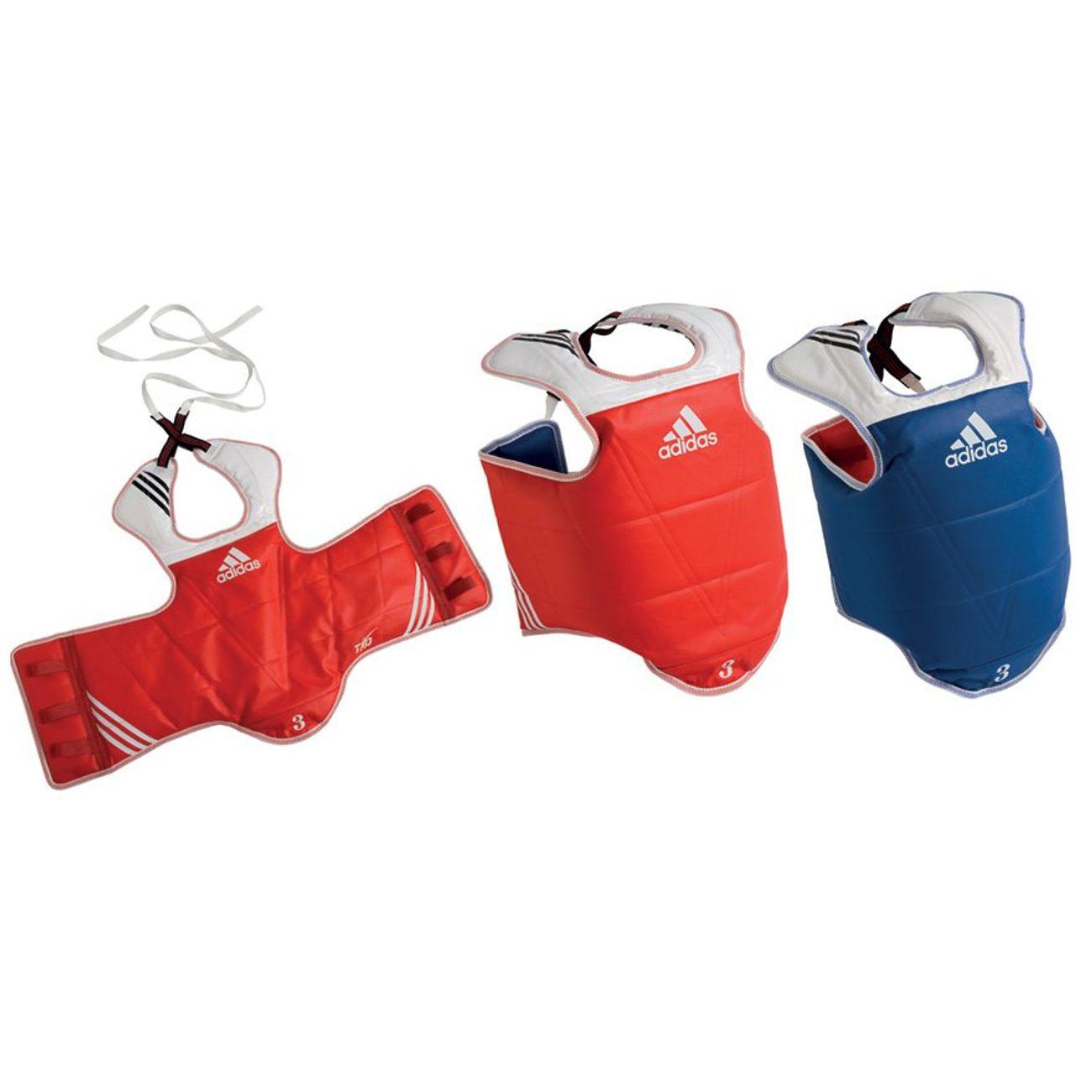 Sport de combat  ADIDAS Plastron Taekwondo Adidas réversible