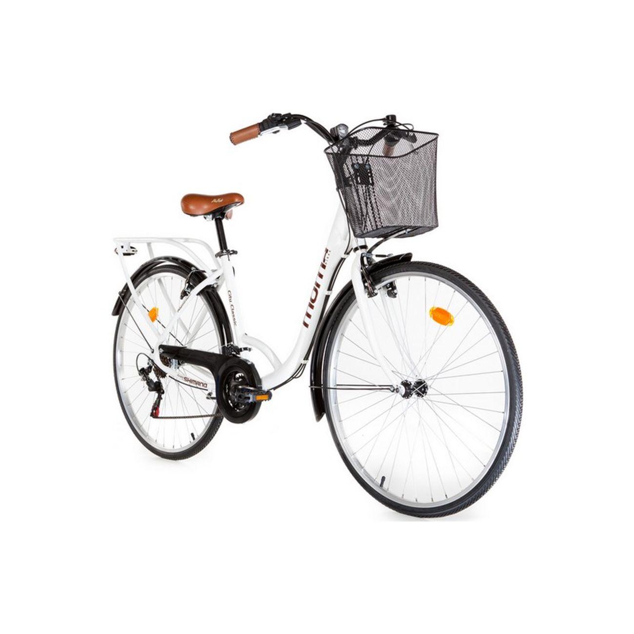 Cycle  MOMABIKES Vélo de Ville City Classic 28