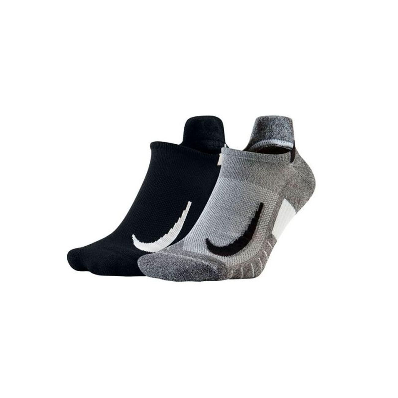 Homme Show 915 Negro Nisx7554 Calcetin 2 Nike Multiplier Padel Gris Paquete Pares No QtshdCxr