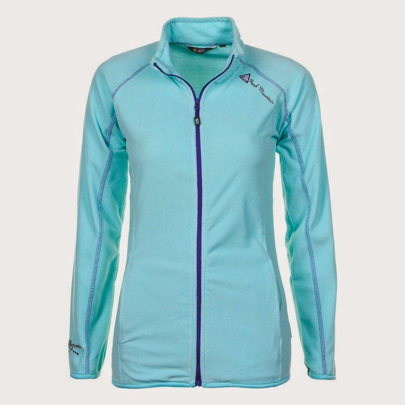 Ski alpin femme PEAK MOUNTAIN Peak Mountain - Sweat polaire femme AFONE-turquoise