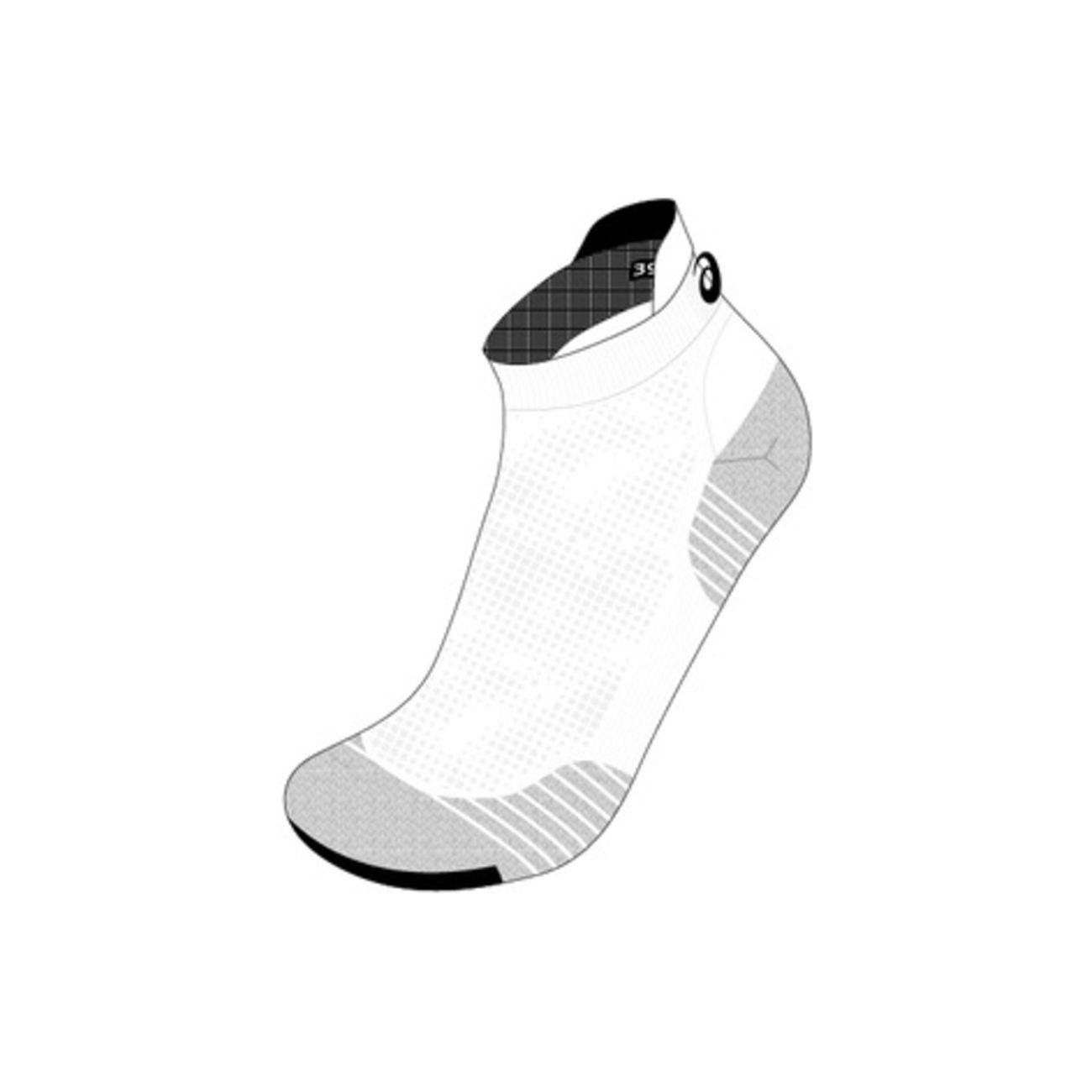 Course à pied adulte ASICS Chaussettes Asics Ultra Light Ankle
