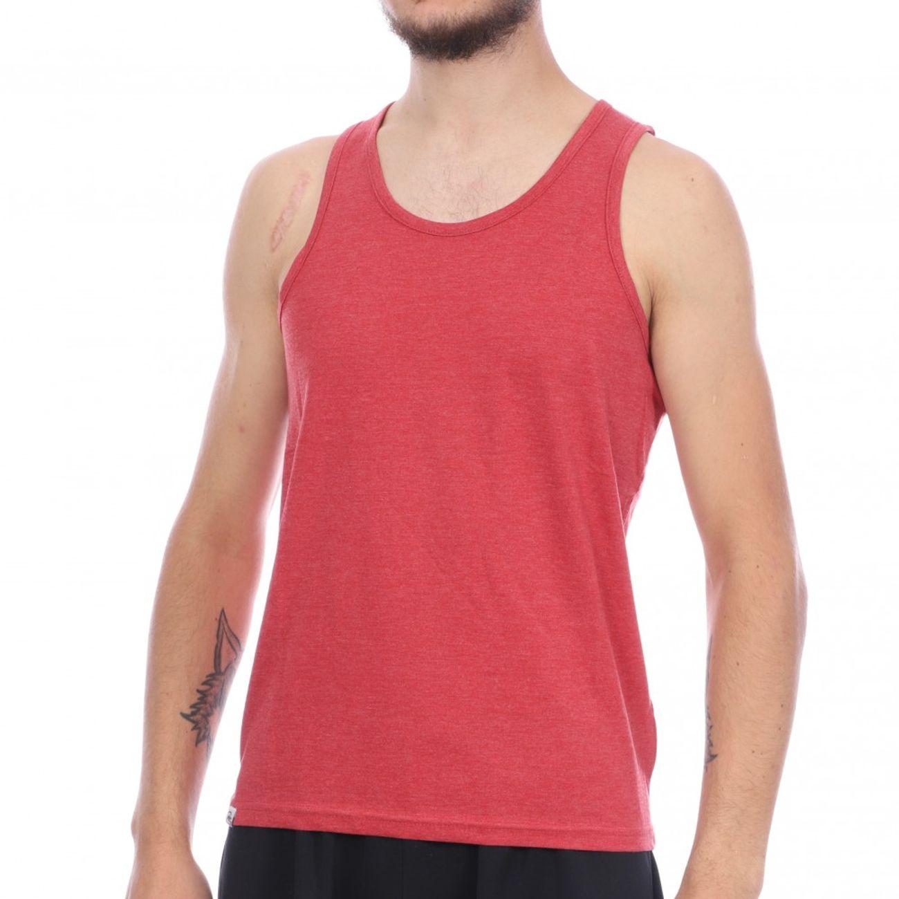 Mode- Lifestyle homme RMS26 Débardeur Rouge Chiné Homme RMS 26