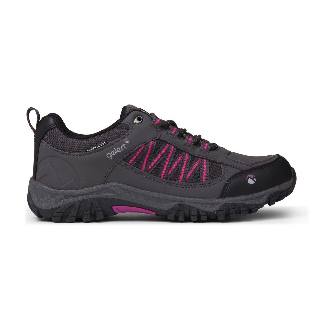 Randonnée femme GELERT Horizon Chaussures Basses De Marche Randonnée Montagne Imperméables