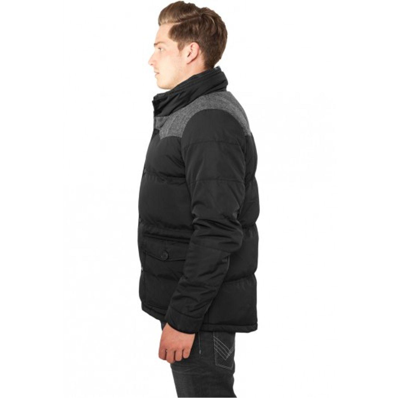 ... Mode- Lifestyle adulte URBAN CLASSICS Veste d hiver URBAN CLASSICS  Nylon Oxford Noir ... a87a6498634b