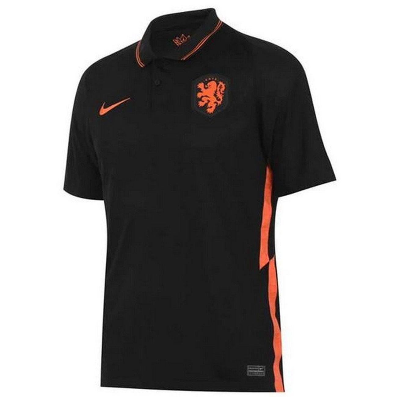 Football homme NIKE Nouveau Maillot Officiel de Football Homme Nike Hollande Pays-Bas Extérieur Euro 2020
