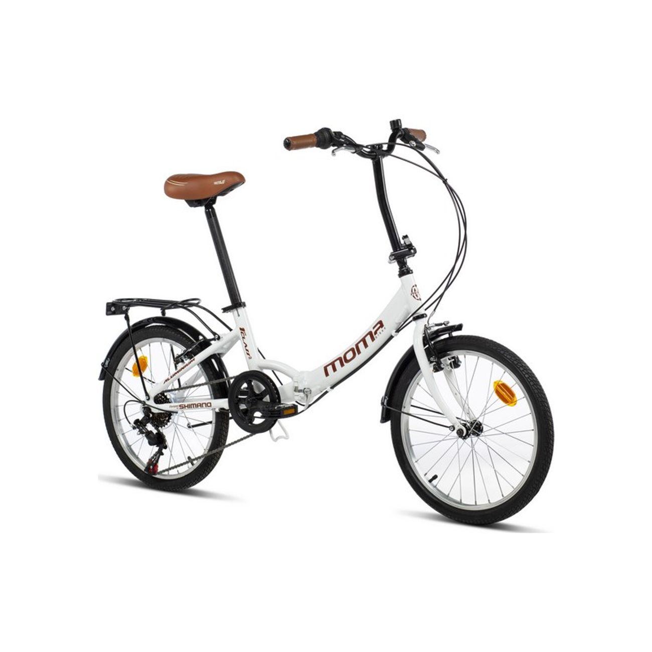 Cycle  MOMABIKES Moma Bikes Vélo de Ville Pliant First Class 20