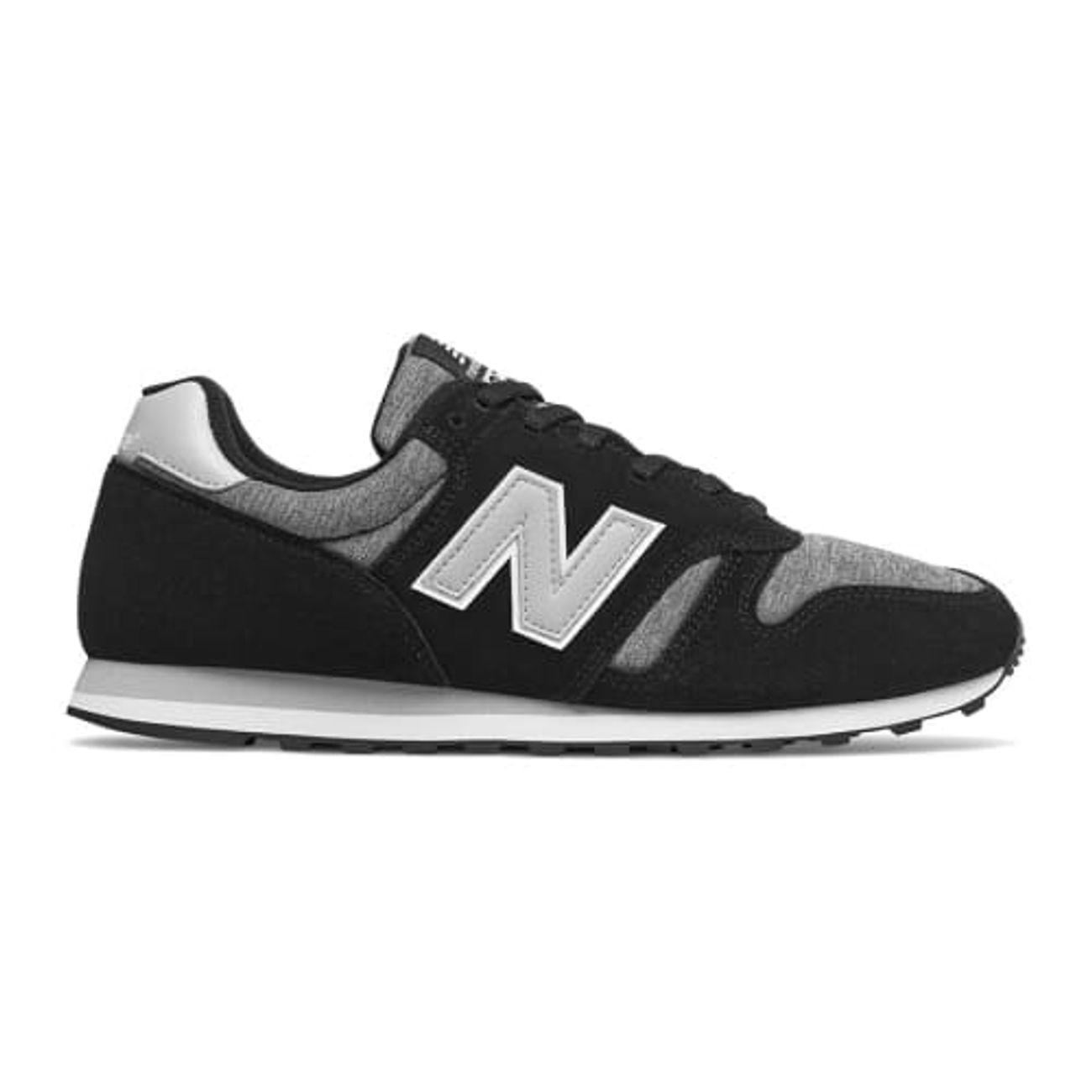 nouveau style 6659b 8d820 Mode- Lifestyle homme NEW BALANCE Chaussures New Balance ML 373 noir gris  clair