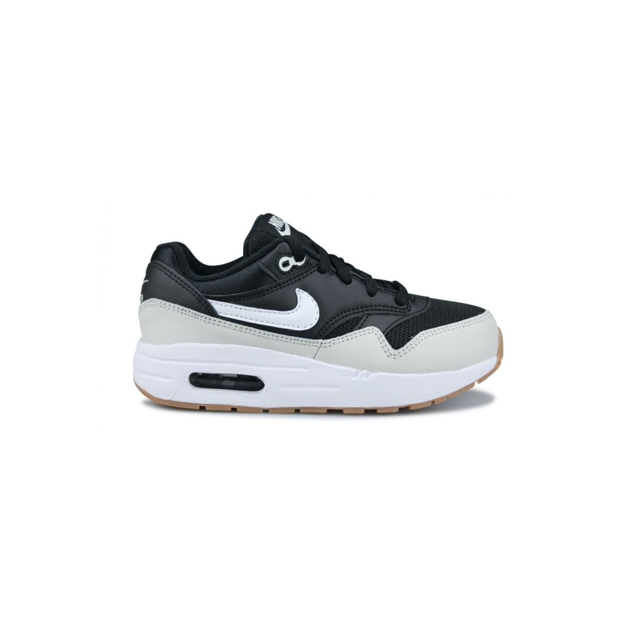 on sale 8793f a64b7 Mode- Lifestyle garçon NIKE Basket Nike Air Max 1 Enfant Noir 807603-011 ...
