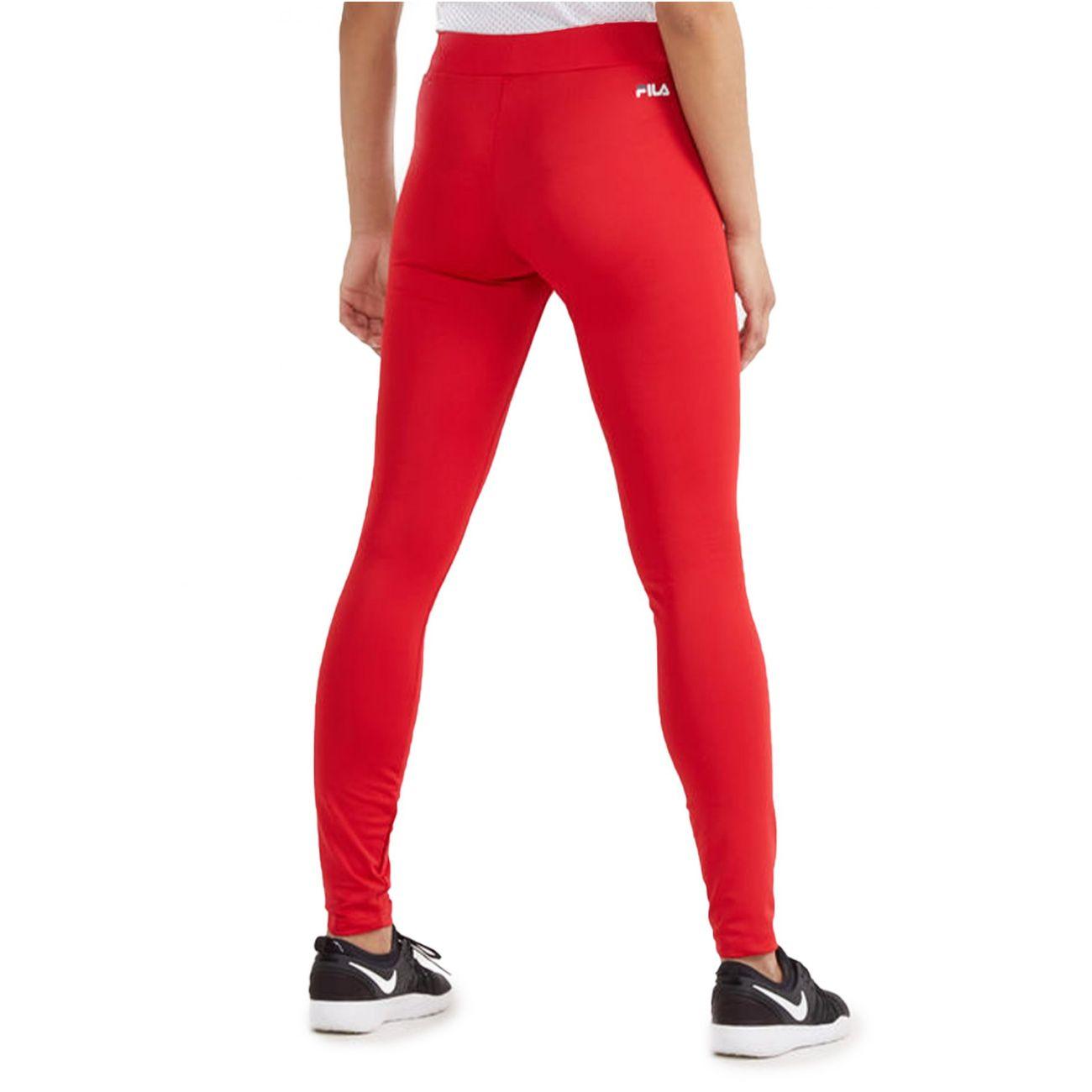 marques reconnues Prix de gros 2019 thésaurisation comme une denrée rare Mode- Lifestyle femme FILA Urban leggings rouge